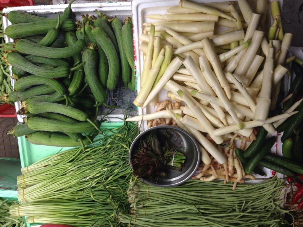 Légumes Sichuan