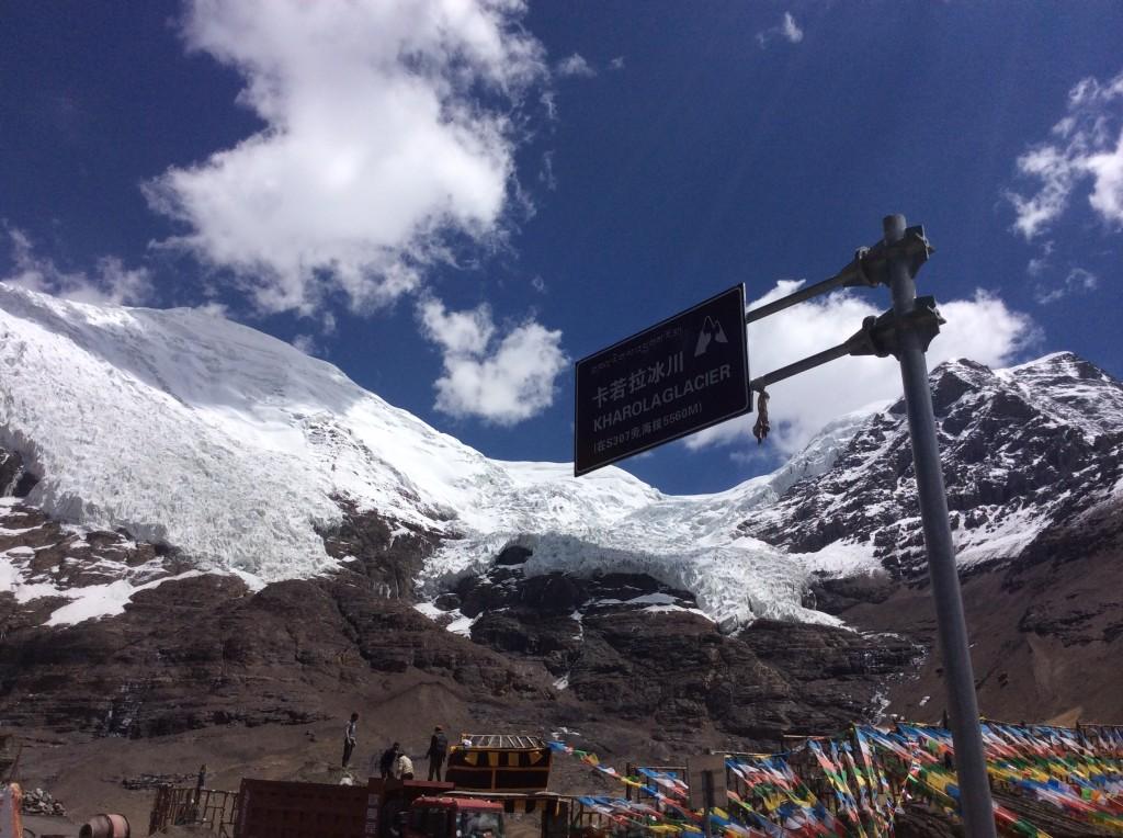 Glacier de Karo-la