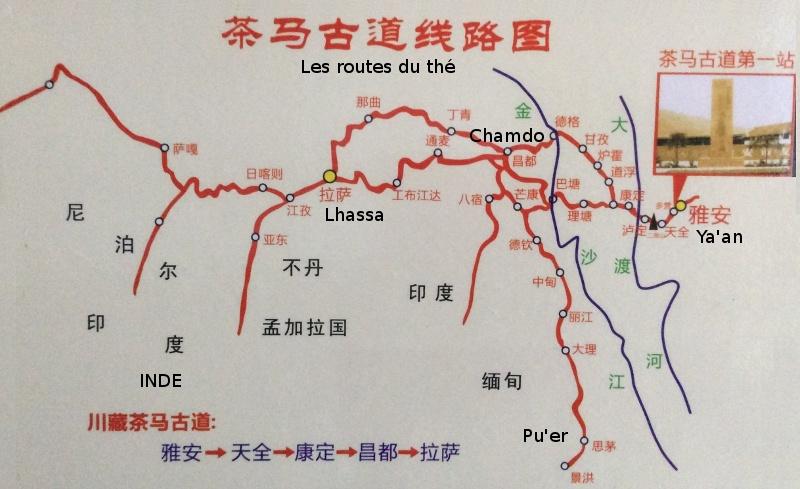 Route du thé et des chevaux