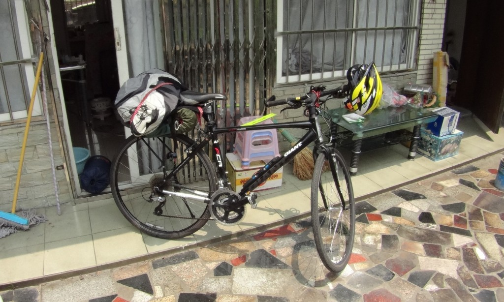 Vélo départ