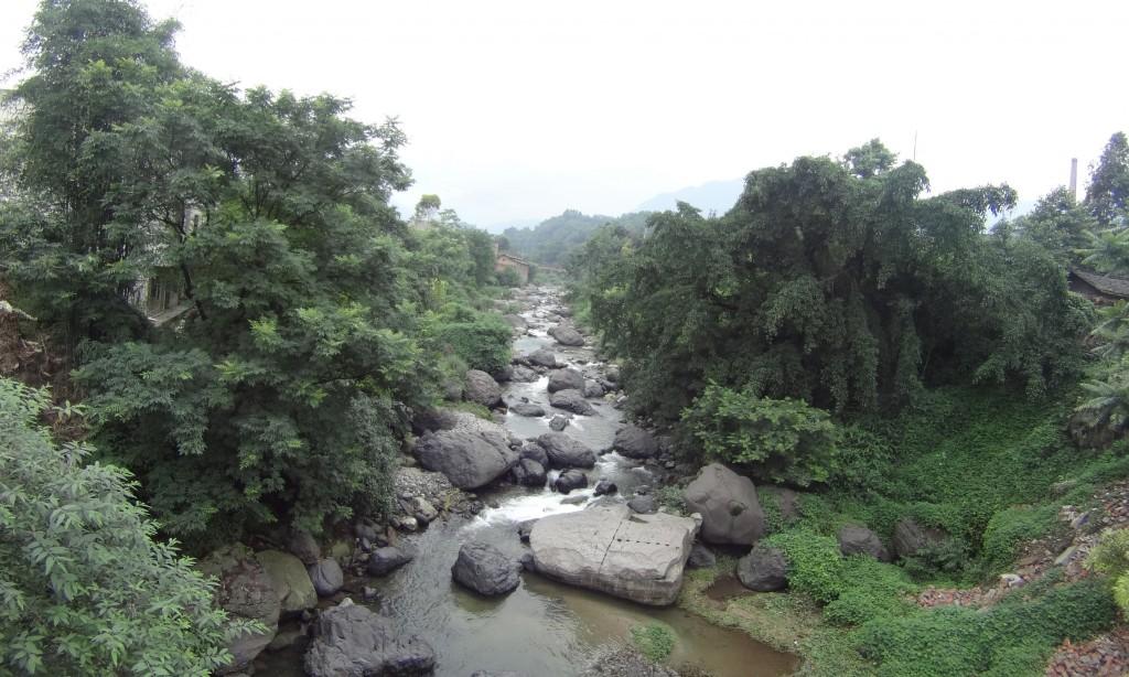 Pont Gaoqiao Emeishan