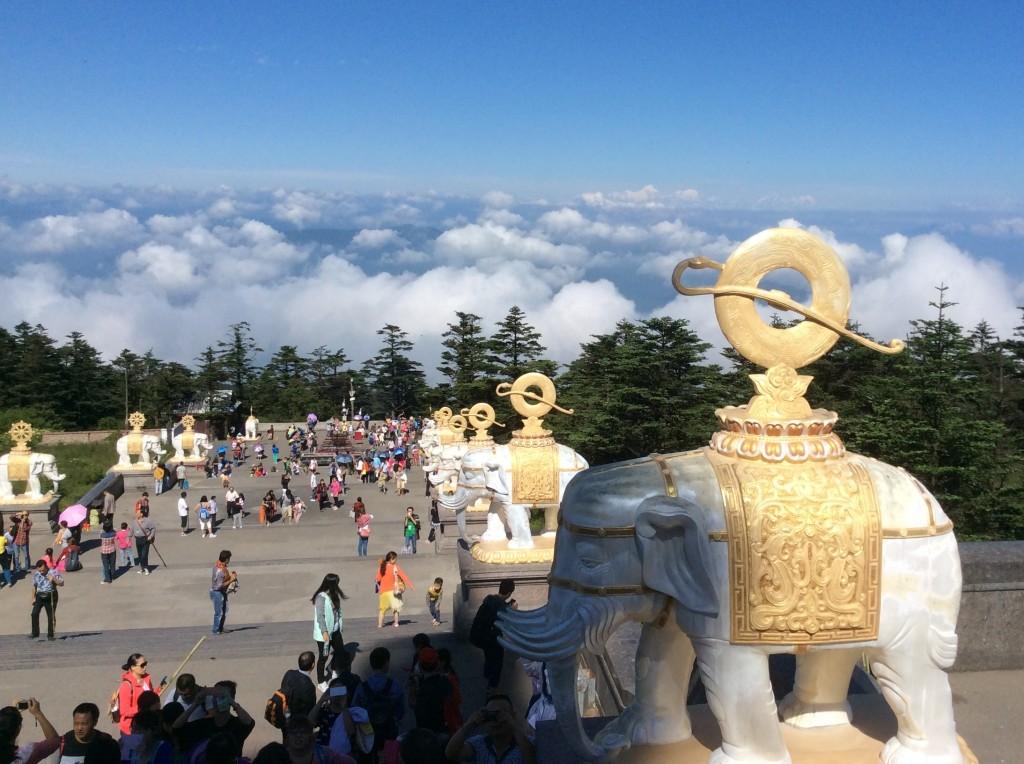 Mer de nuages mont Emei