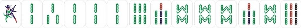 couleur mahjong
