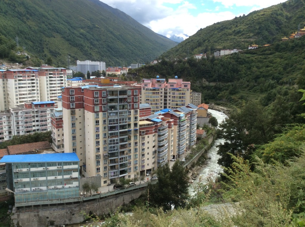 Vue sur Kangding