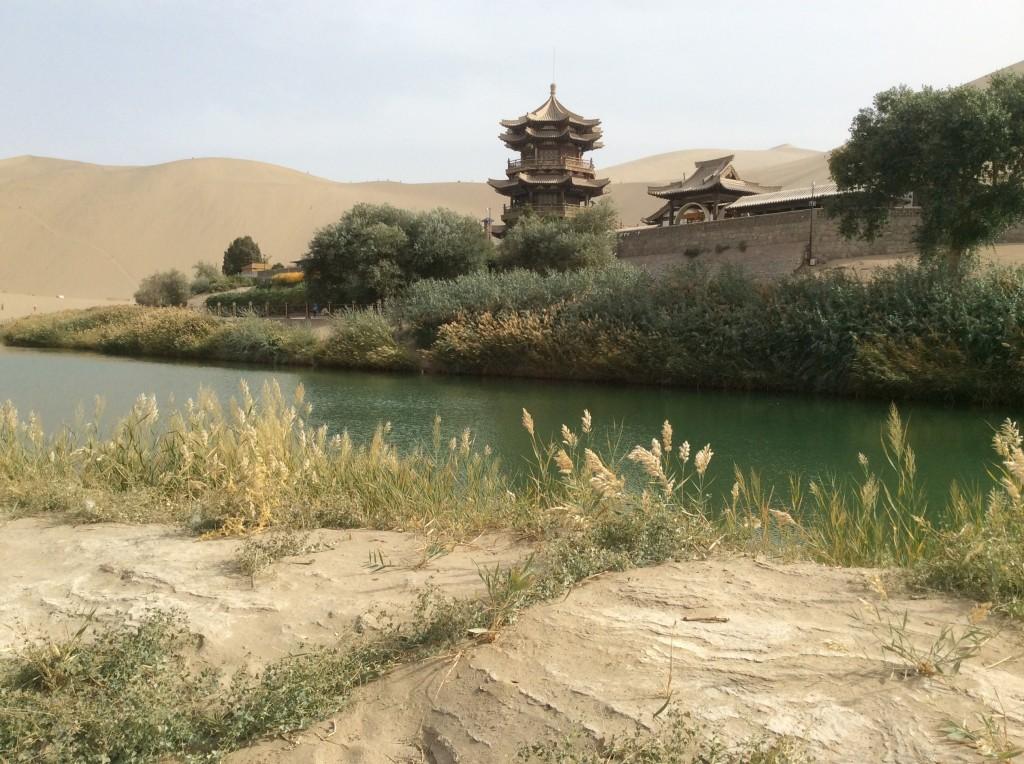 Source croissant de lune Dunhuang