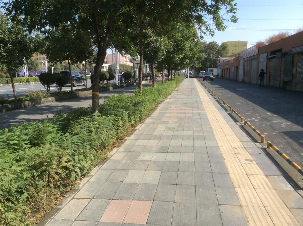 Trottoir Urumqi