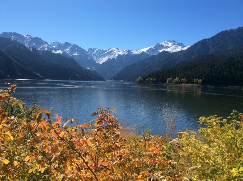 Lac Tianchi Xinjiang