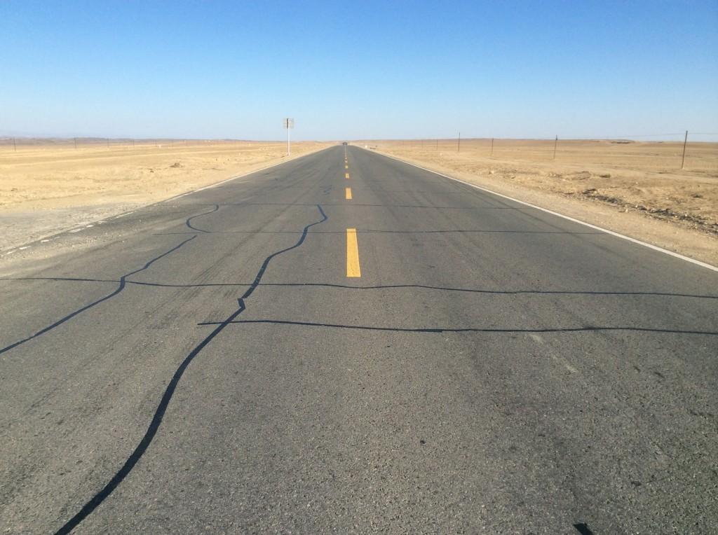 Route désert Gurbantunggut