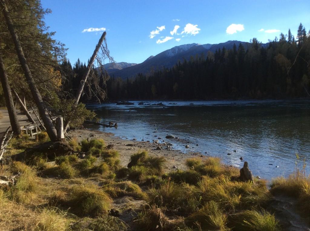 Paysage lac Kanas