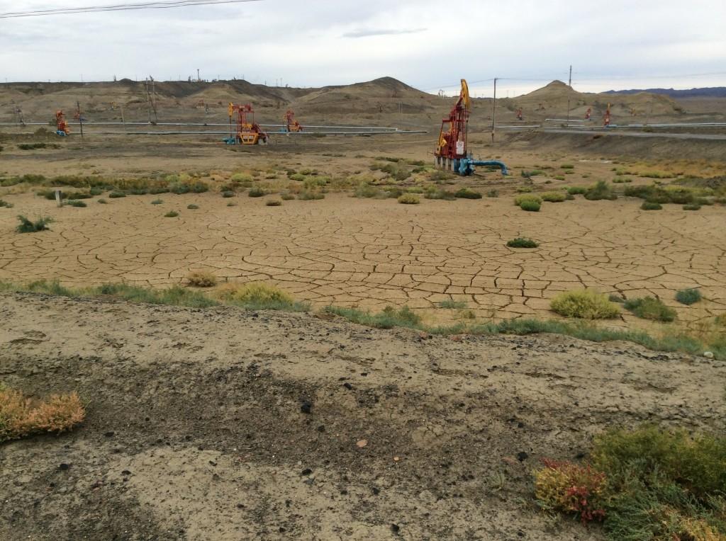 Puits de pétrole Xinjiang
