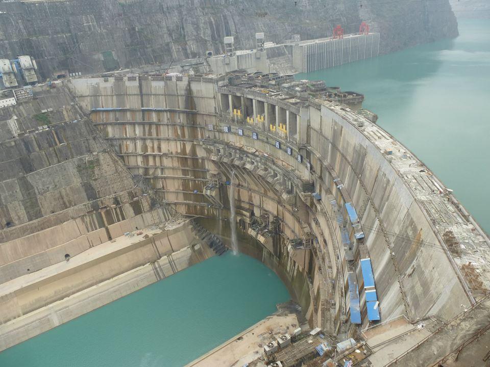 Barrage de Xiluodu Leibo Sichuan
