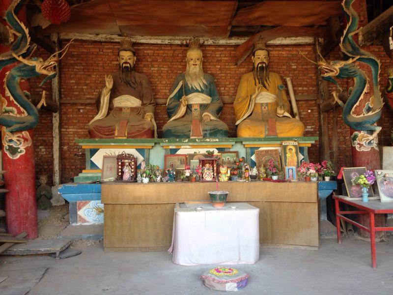 Lao Tseu temple Lingyin Xichang