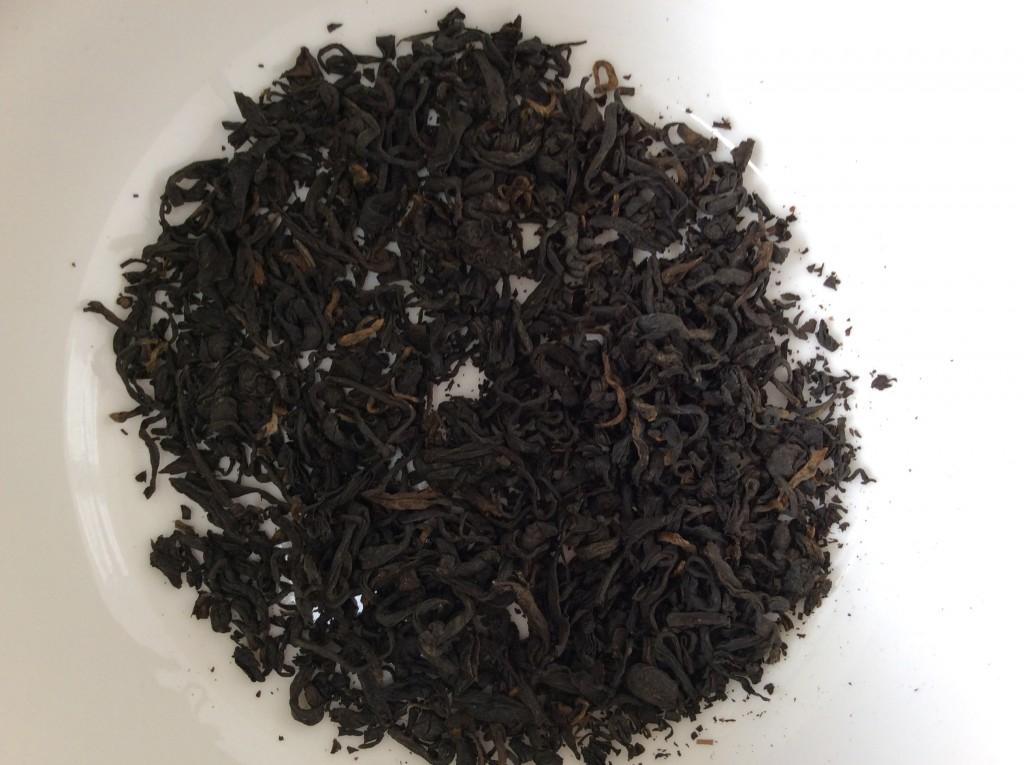 thé tibétain noir
