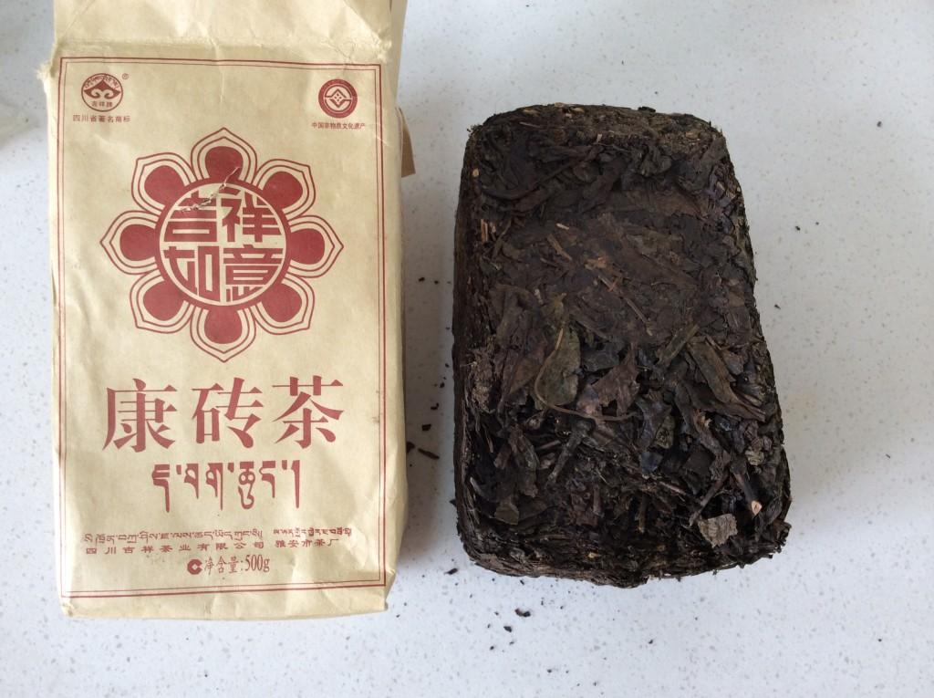 brique thé tibétain 2013