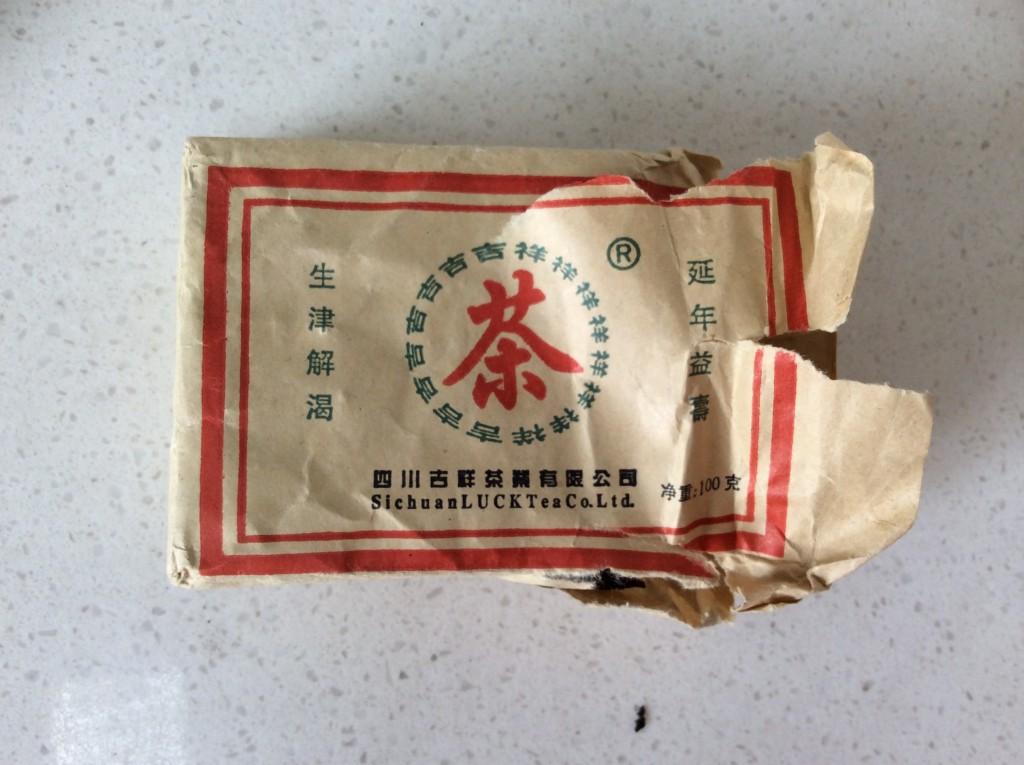 brique thé tibétain 2006