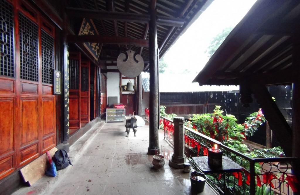 Temple mont Lushan Xichang