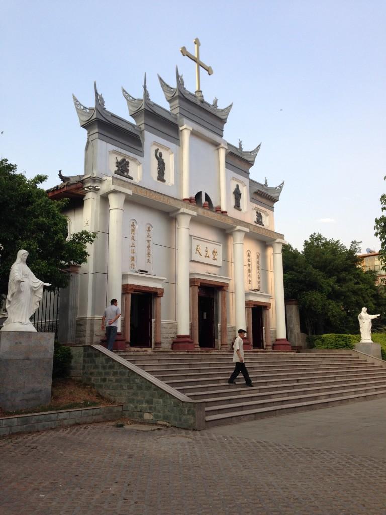 église catholique de Xichang