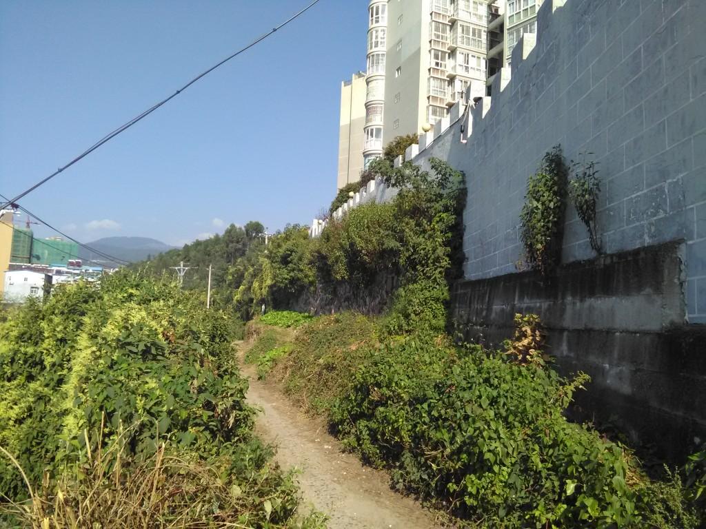 Mur ouest de Xichang