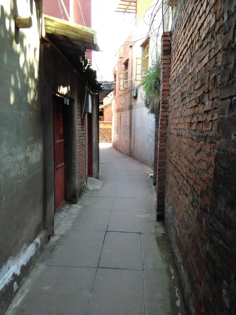 ruelle vieille ville Xichang