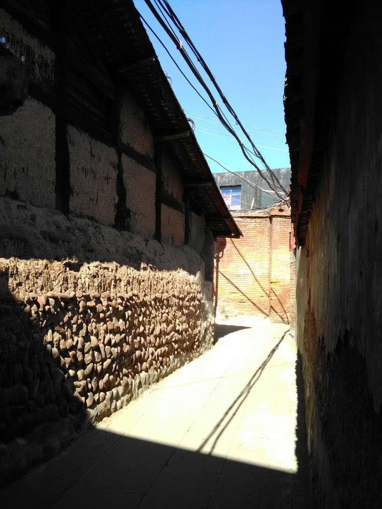 autre ruelle vieille ville Xichang